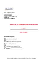 Vollmacht Und Informationsblatt Prof Dr Ronald Schmid
